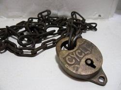 Chain & Cycle Padlock
