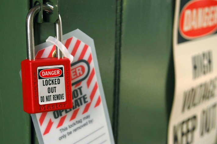 Lockout Tagout Lock Tag Safety Sign