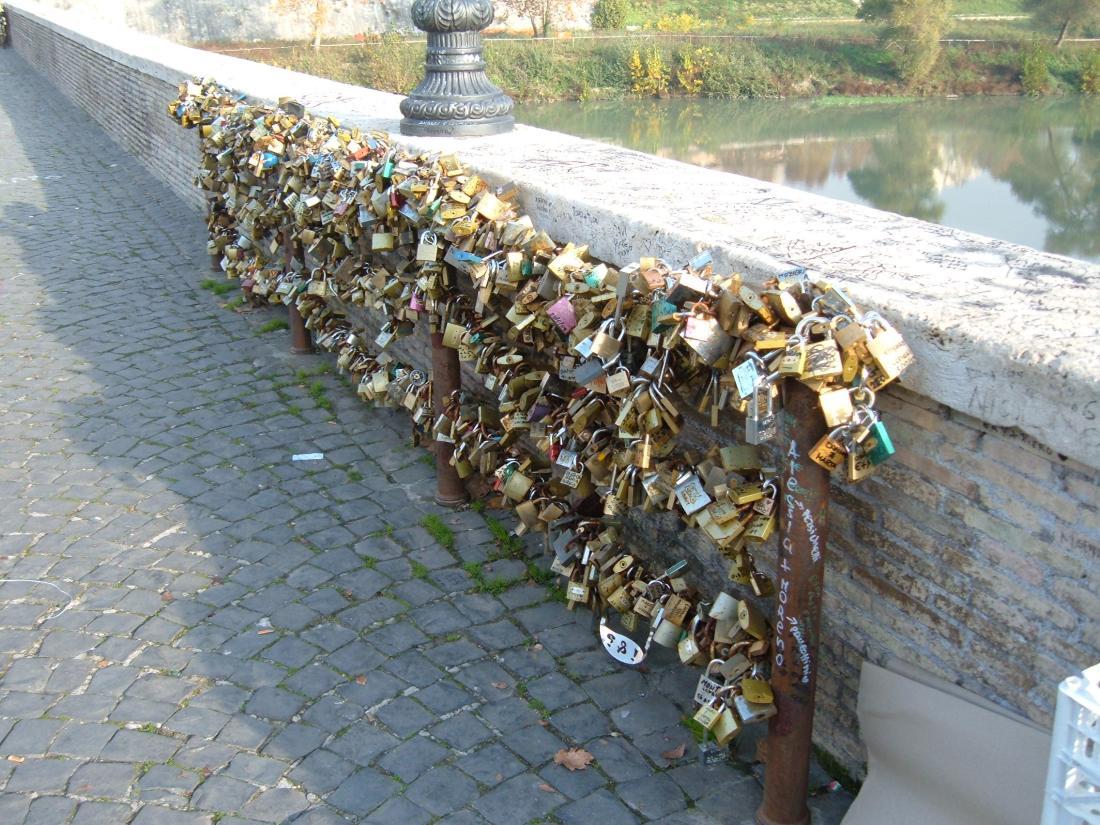 Lucchetti di Ponte Milvio