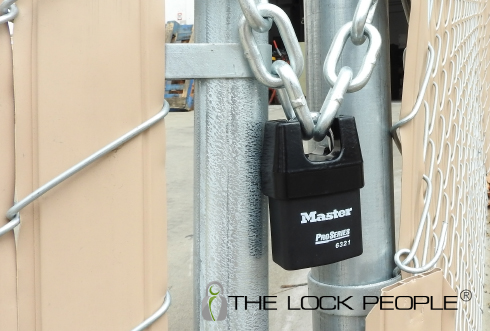 Master Lock No. 6321 ProSeries® Laminated Steel Shrouded Padlock, with Iron Shroud