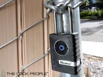Master Lock Model No. 4401DLH Outdoor Bluetooth Lock