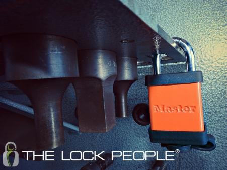 The Master Lock® ProSeries® Solid Aluminum Master Lock No. 6835
