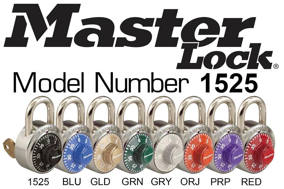 master lock colors