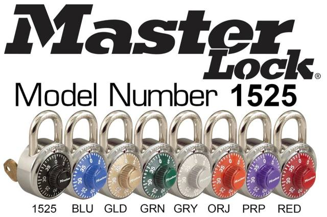 master lock colors