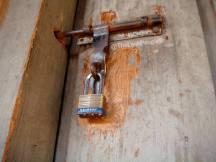 Master Lock Laminated Brass Padlock