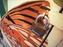 Master Lock Laminated Brass Padlock