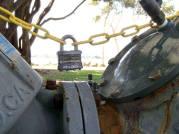 Master Lock Laminated Steel Padlock