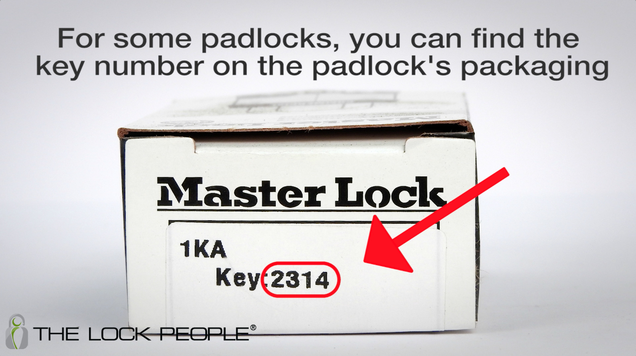 how to find a key number