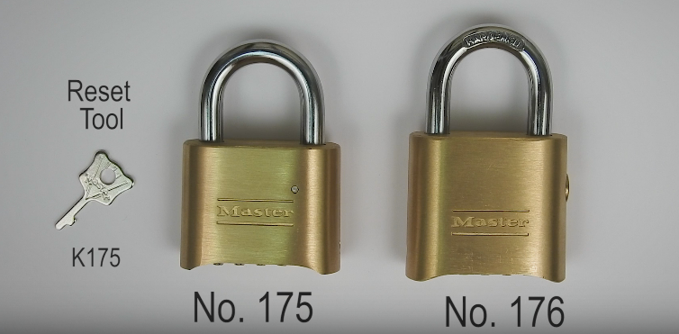 How To Reset Master Lock No 175 And 176 Master Locks